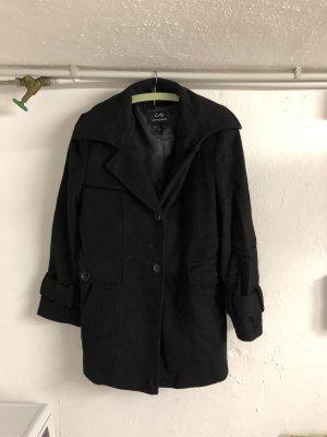 Schwarze Jacke/Mantel