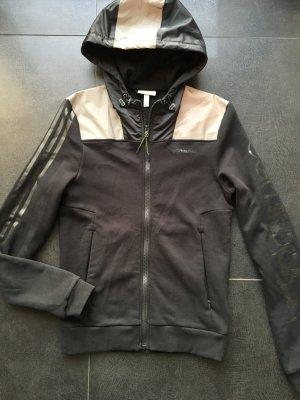 Schwarze Jacke von adidas neo