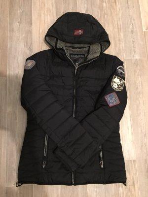 Schwarze Jacke von Napapijri Größe L