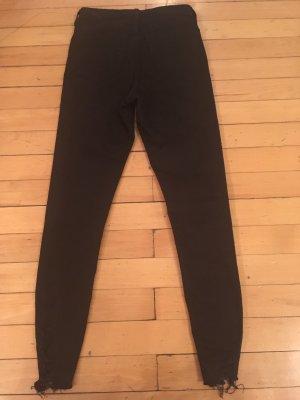 Schwarze Jamie Jeans von Topshop