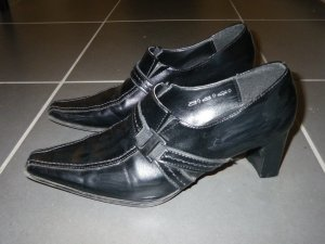 Schwarze Jane Klain Pumps