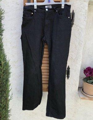 Schwarze Jeans 38