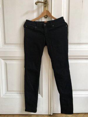 Schwarze Jeans aus festem Stoff von Boss Orange