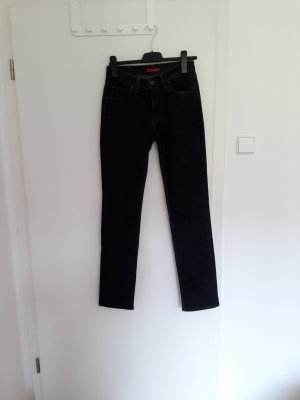 Angels Straight Leg Jeans black cotton
