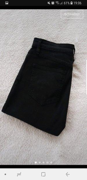 Schwarze Jeans destroyed H&M 34 XS