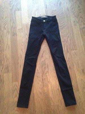 Schwarze Jeans Gr. 32