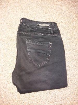 schwarze Jeans gr. 38