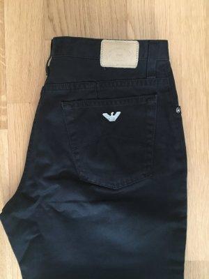 Armani Jeans Jeans vita bassa nero-argento