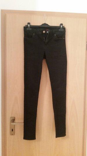Schwarze Jeans H&M Gr. 38