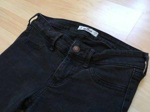 Schwarze Jeans Hollister