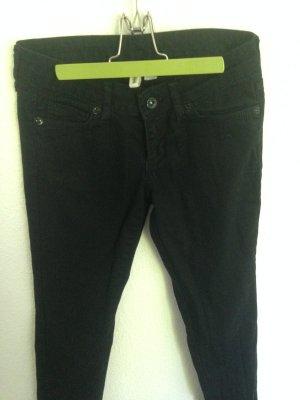 Schwarze Jeans Hose - Mango