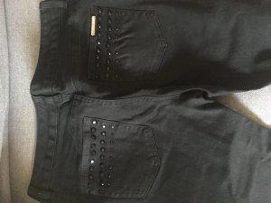 schwarze Jeans-Hose von Michael Kors