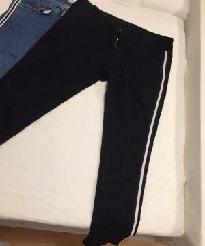 Low Rise jeans zwart-wit