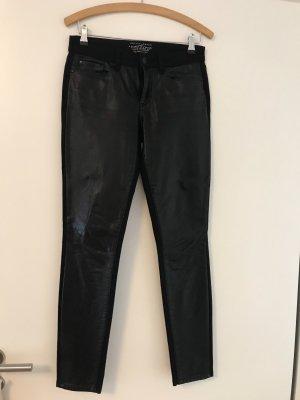 Schwarze Jeans in Lederoptik Esprit 27 / 32