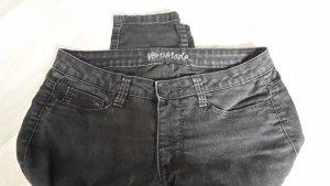 schwarze Jeans in M/32