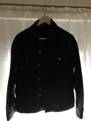 Schwarze Jeans Jacke Urban Outfitters