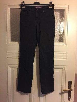 Schwarze Jeans - loose fit