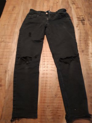 Only 7/8-jeans zwart