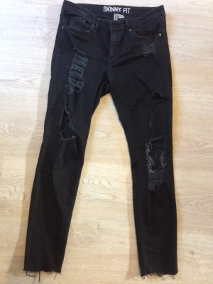 H&M Divided Stretch jeans zwart