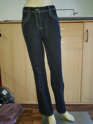 Jürgen Michaelsen Biker Jeans black-silver-colored