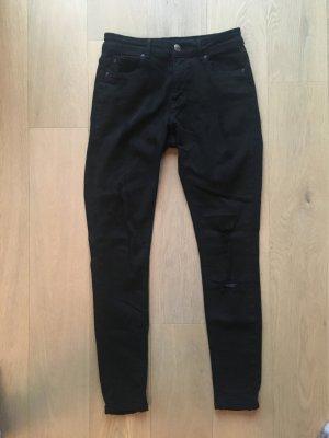 Schwarze Jeans pull&bear