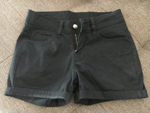schwarze Jeans Short Größe XS