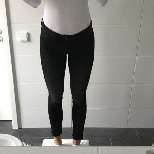 schwarze Jeans Skinnyjeans eng