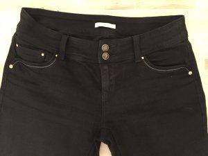 Schwarze Jeans Straight Leg von Promod