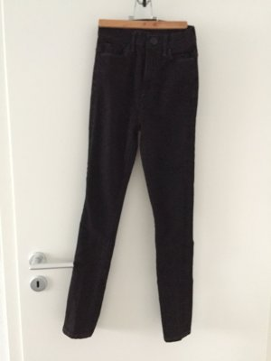 Schwarze Jeans Super High Rise W24