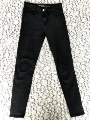 American Eagle Outfitters Skinny jeans antraciet-zwart