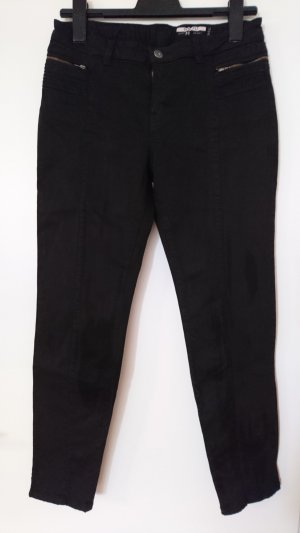 Schwarze Jeans von Esprit mit Reißverschlusstaschen