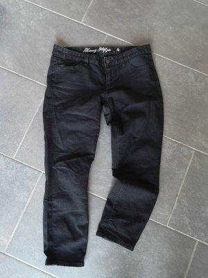 Schwarze Jeans von Hilfiger Größe 4