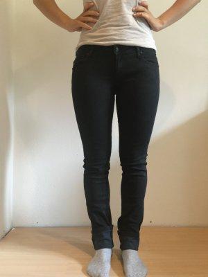 Schwarze Jeans von Mango Gr. 38