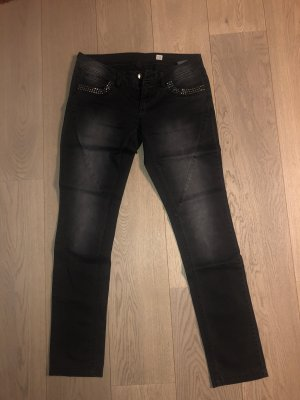 QS by s.Oliver Tube Jeans black-anthracite