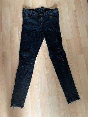 Zara Jeans skinny nero