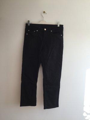 Schwarze Jeans, Weekday, W 27, Straight cut,