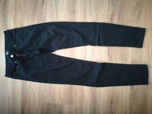 H&M Drainpipe Trousers black