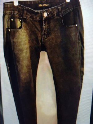 Schwarze Jeanshose von Rose Player