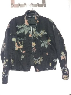 Noisy May Veste oversize multicolore