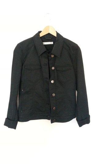 Schwarze Jeansjacke von ZARA Gr. 40 TOP!