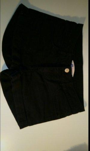 H&M Pantaloncino di jeans nero Cotone