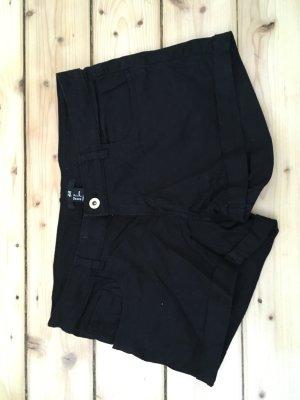 Schwarze Jeansshorts von H&M