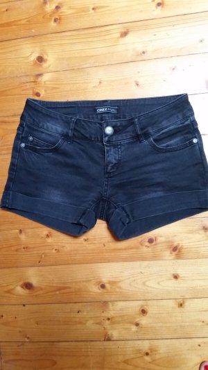 Schwarze Jeansshorts von ONLY
