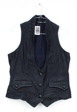 Mexx Denim Vest black cotton
