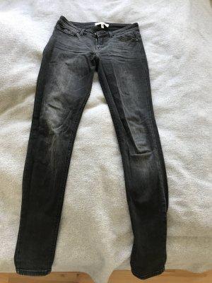 Mango Low Rise jeans zwart