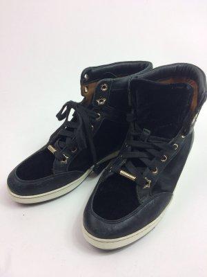 schwarze Jimmy Choo Sneaker