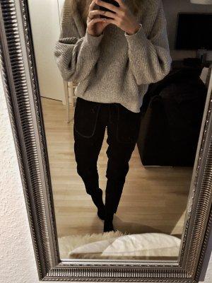 Schwarze Joggpants
