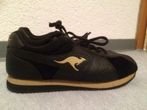 schwarze Kangaroos Sneakers / Halbschuhe - zweimal getragen - Gr. 38