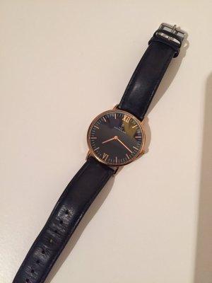 Schwarze Kapten & Son Uhr zu verkaufen