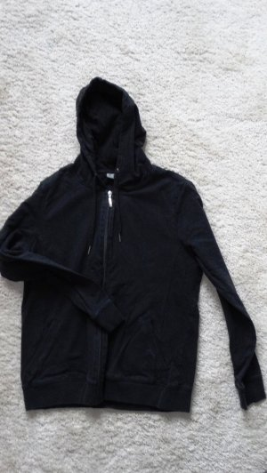 Blue Motion Hoody black